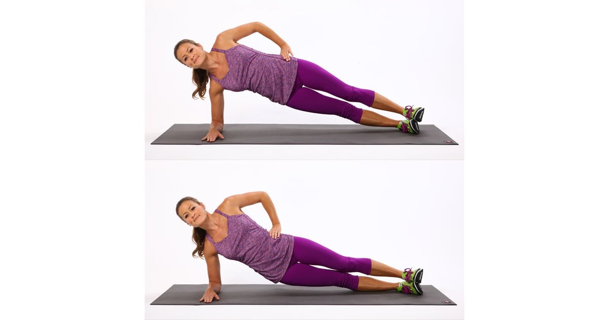 Side Plank Pulses (Hip Dips) | Plank Moves For Obliques ...