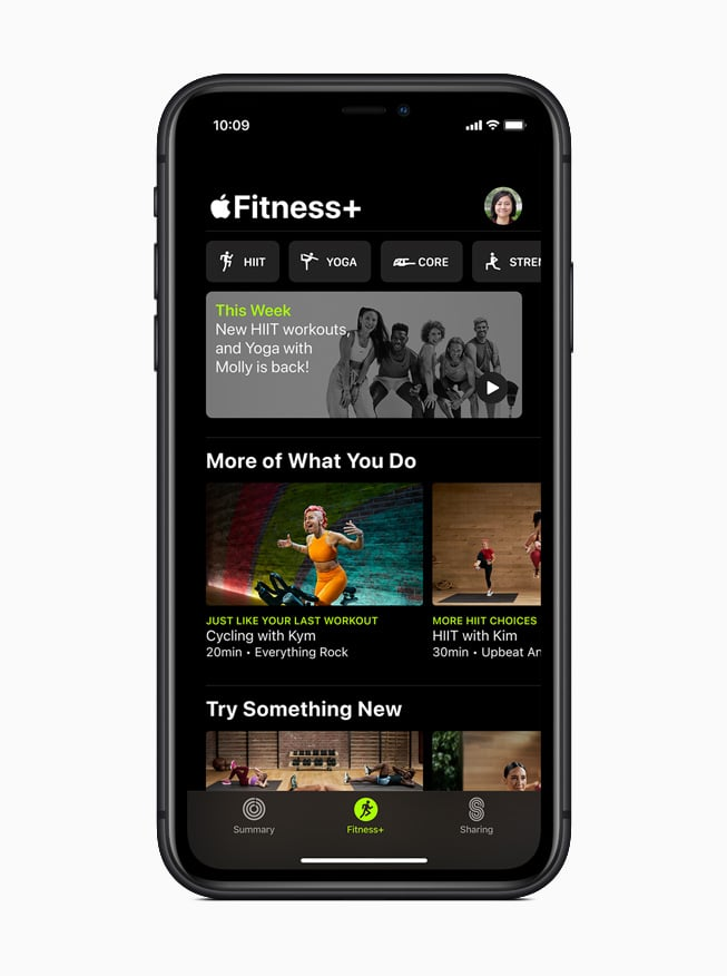 A Preview of Apple Fitness Plus