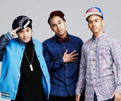 Interview With The X Factor's Young Men Society: Nate, Josh and Andi