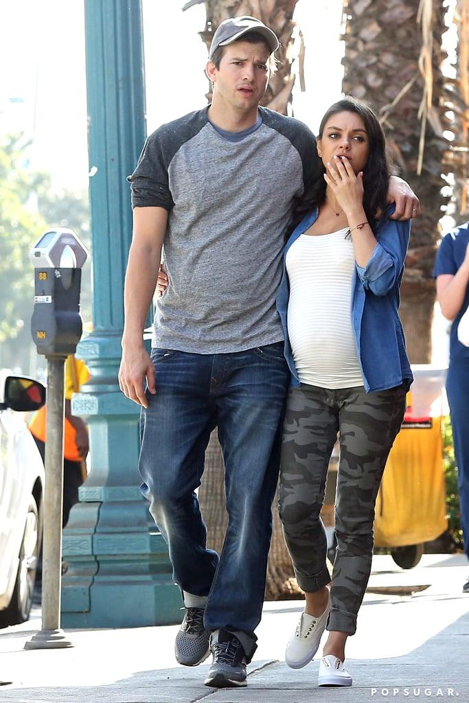Mila Kunis and Ashton ...