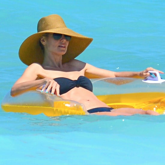 Heidi Klum in a Bikini in the Bahamas