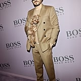Orlando Bloom at the Boss Fall 2020 Show