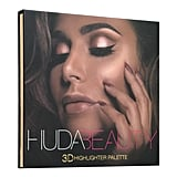 """We've seen powders, we've seen liquids, we've seen creams,"" Huda said in a press release. ""But if I was going to do highlighters, it had to be a game changer and that's what I believe this palette is."""