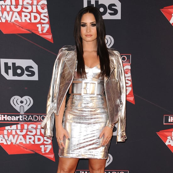 Demi Lovato at the 2017 iHeartRadio Music Awards