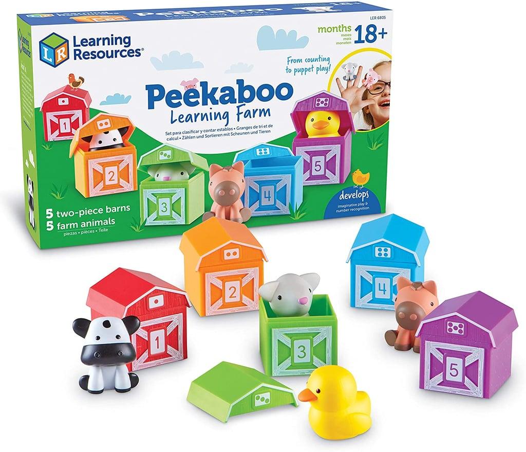 Learning Resources Peekaboo Learning Farm