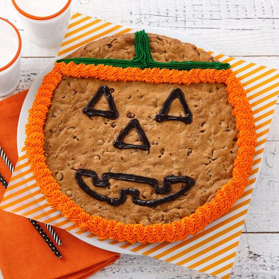 Mrs. Fields Jack-O'-Lantern Cookie Cake