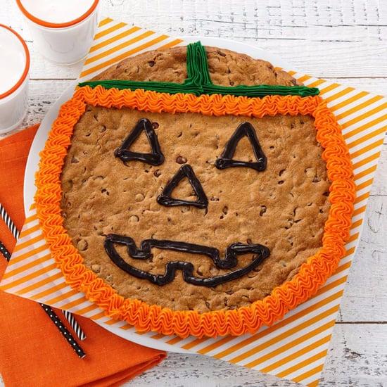 Mrs. Fields Jack-O'-Lantern Cookie Cake