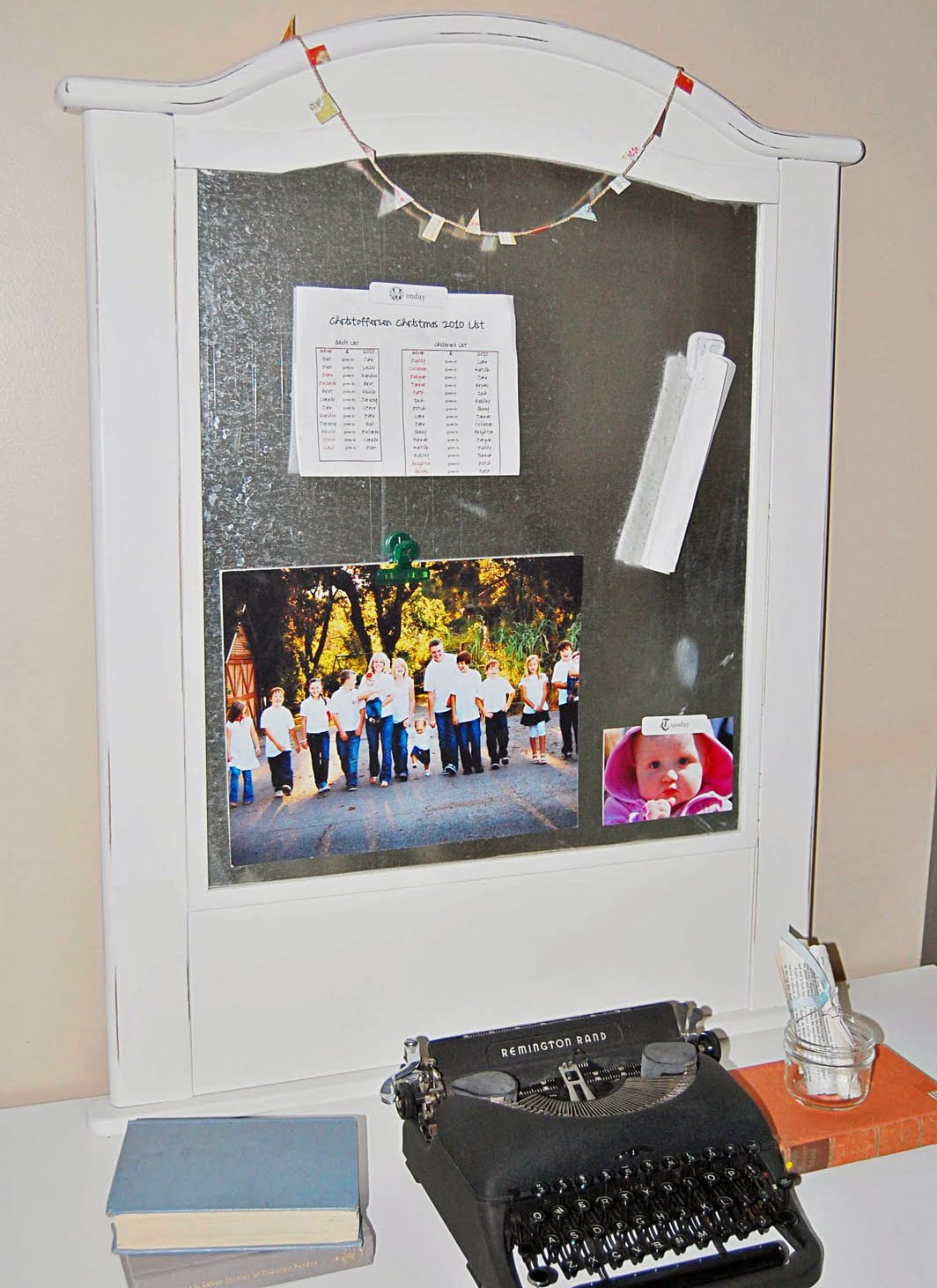 Upcycle Your Crib Into a Magnet Board
