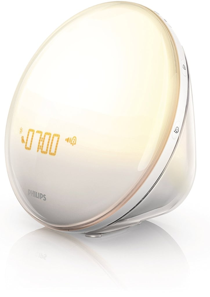 Philips Wake-Up Light Alarm Clock with Colored Sunrise Simulation