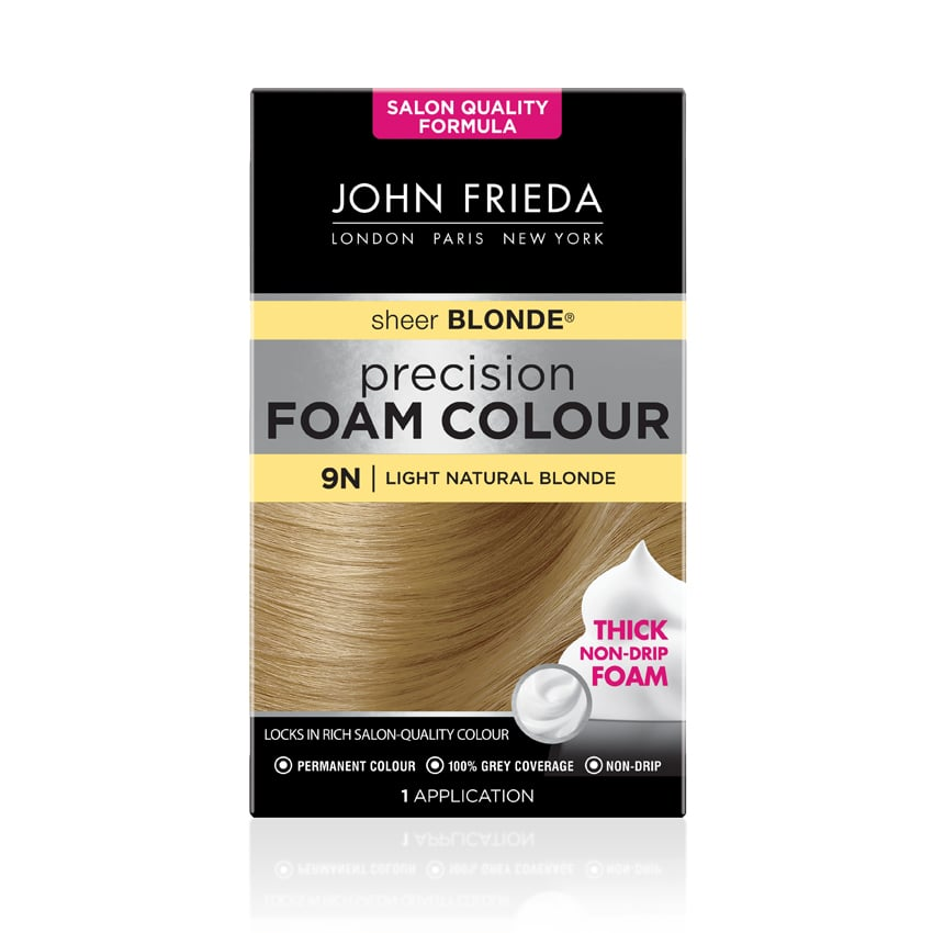 John Frieda Precision Foam Colour Light Natural Blonde 9N