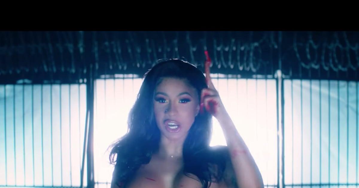 "Cardi B ""Press"" Music Video Beauty Looks"