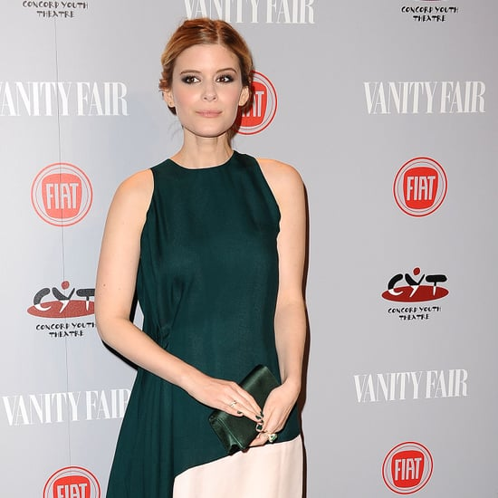 Kate Mara in Green on the Red Carpet on POPSUGAR Live!
