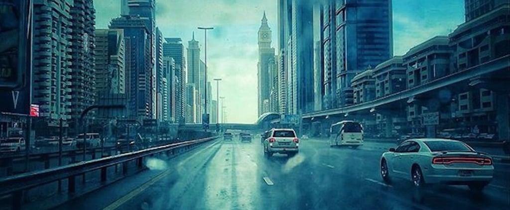 مطر في الإمارات خلال شهر فبراير 2018