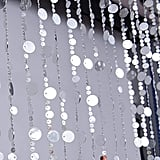 FlavorThings Silver Bubble Beaded Curtain