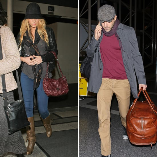 Blake Lively and Ryan Reynolds Travel Together to LA