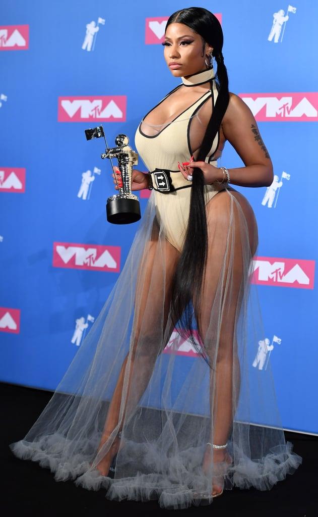 Nicki Minaj Showed Off Her Figure at the MTV Video Music Awards