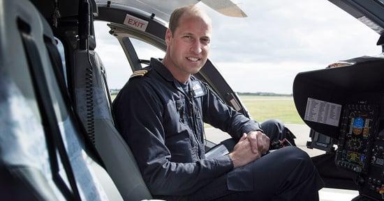 Prince William Talks 'Dark' Moments He's Seen as an Ambulance Pilot