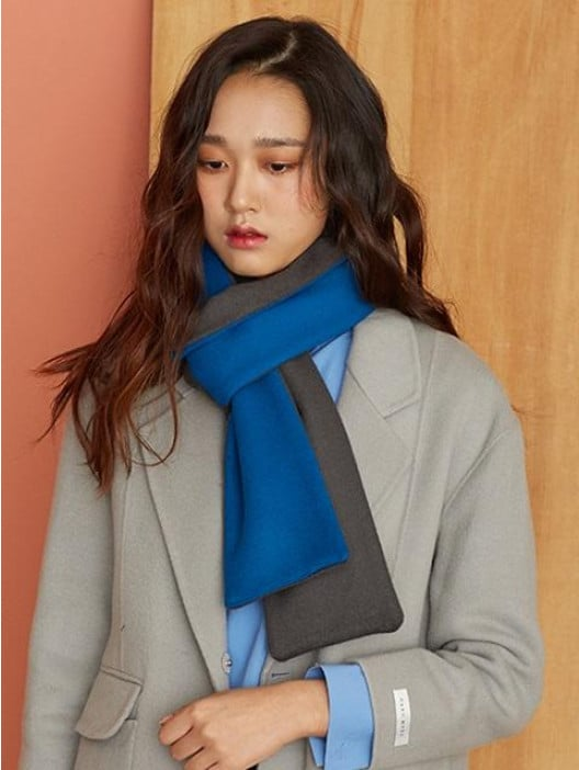 Atelier Park Two Tone Scarf