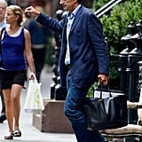 Olivier Sarkozy was out with Mary-Kate Olsen in NYC.