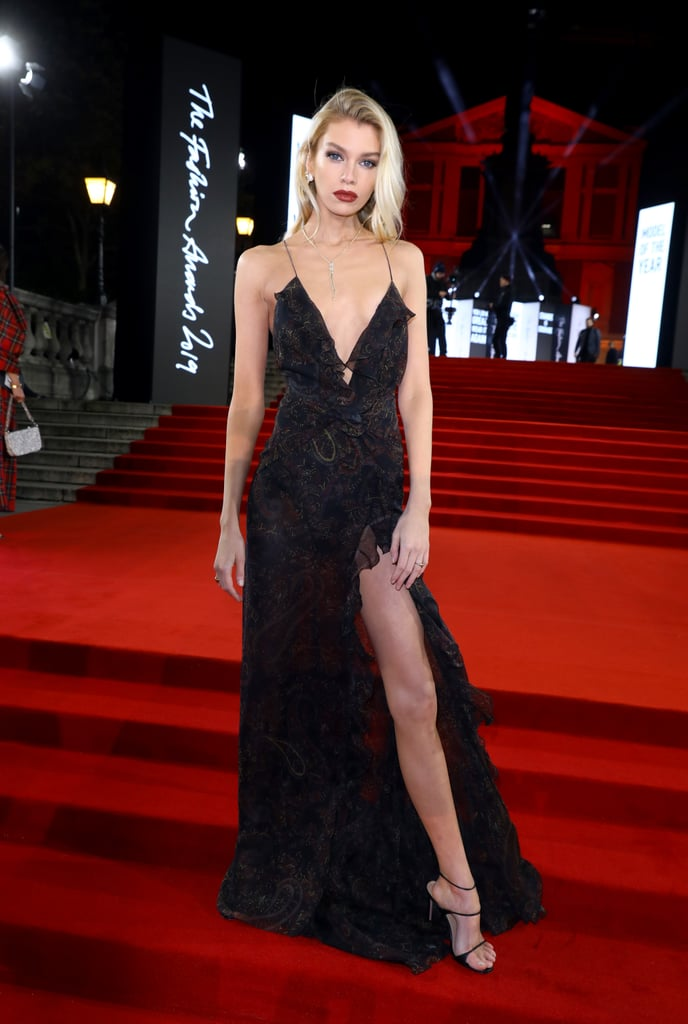 Stella Maxwell at the British Fashion Awards 2019 in London