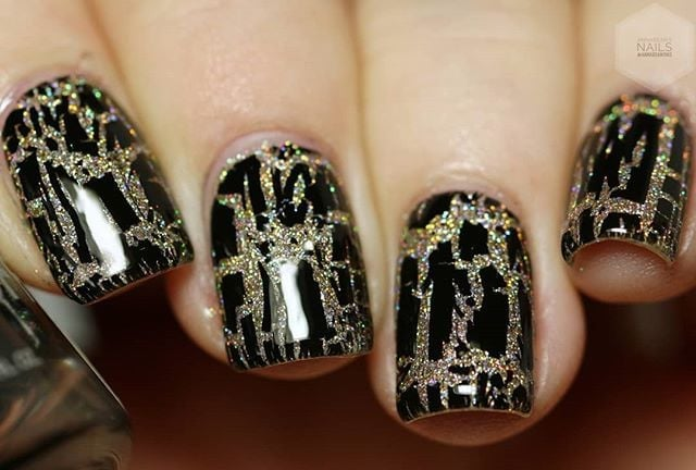 Crackle Nail Art Inspiration