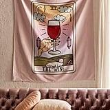 Wine Tarot Tapestry