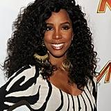 Kelly Rowland's Voluminous Curls