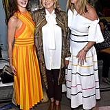 Jenna Bush, Martha Stewart, and Barbara Bush at Carolina Herrera Fall 2019