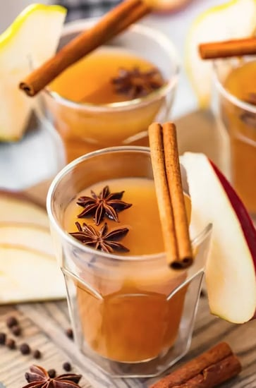 Spiked Pear Cider With Ginger
