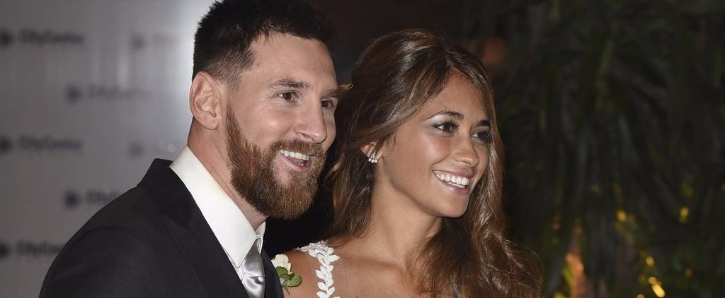 Lionel Messi and Antonella Roccuzzo Matching Wedding Tattoos