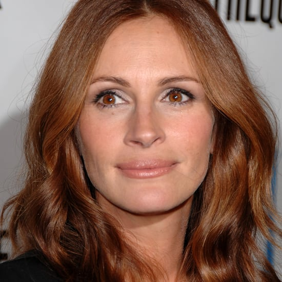 Julia Roberts Natural Hair Colour