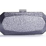 We can't get enough of the architectural shape of this Townsend glitter box clutch ($30).