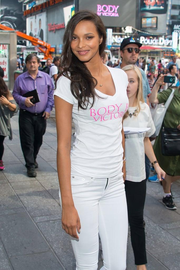 Lais Ribeiro's Victoria's Secret Angel Debut