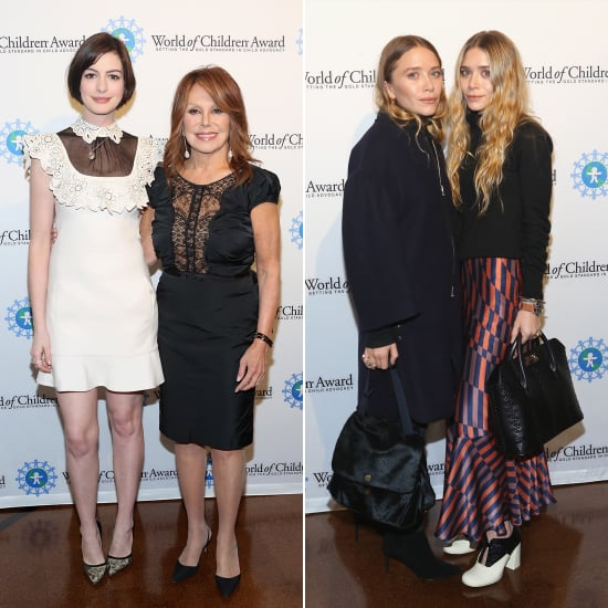 Mary-Kate and Ashley Olsen Dresses World of Children Awards