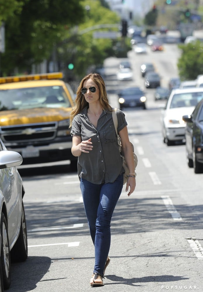 Minka Kelly Gives Her Locks a New Look For Summer