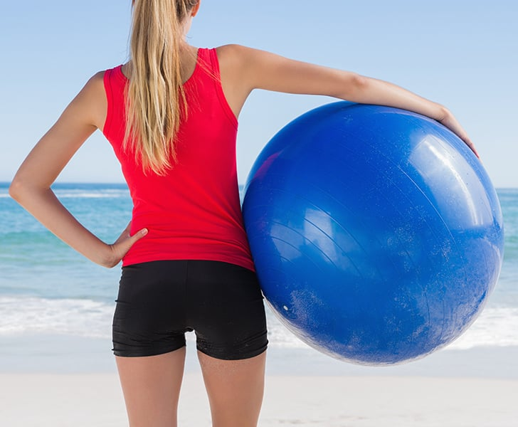 On the Ball: 4 Exercises For a Toned Back