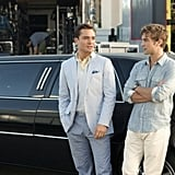Ed Westwick as Chuck Bass and Chace Crawford as Nate Archibald on Gossip Girl.  Photo courtesy of The CW