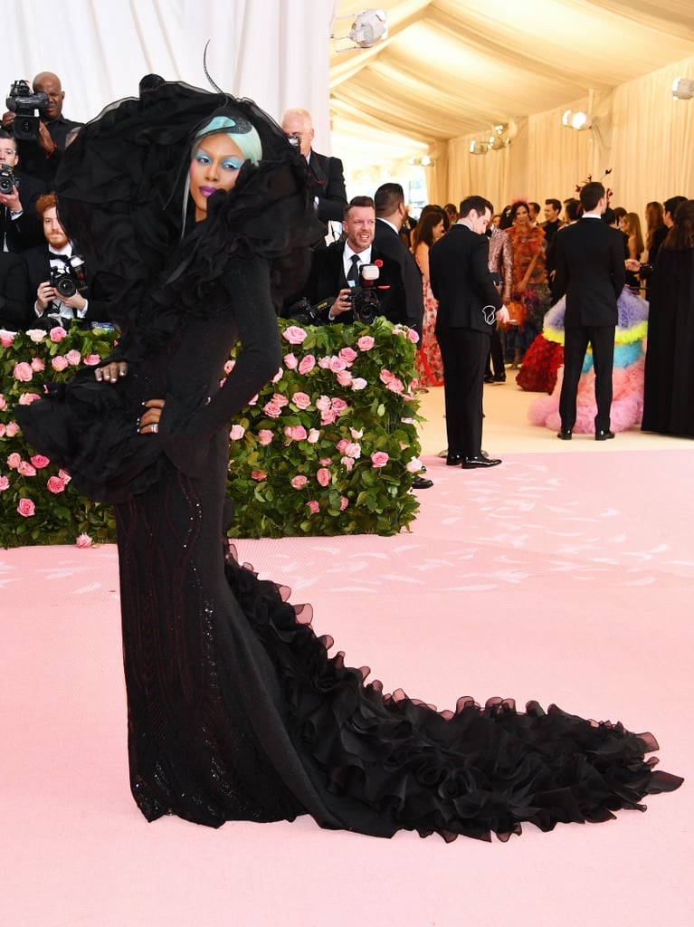 Laverne Cox at the 2019 Met Gala