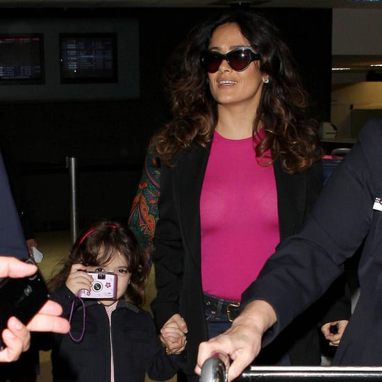 Salma Hayek and Valentina LAX Pictures