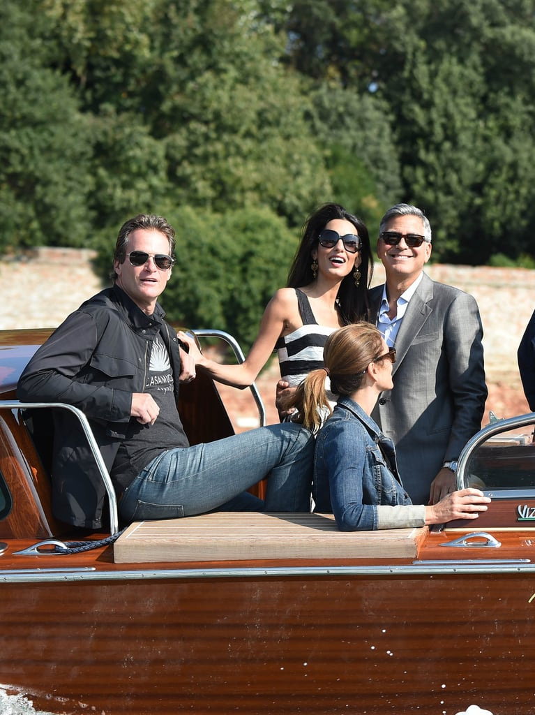 George Clooney And Amal Alamuddin Wedding Guests In Venice ...