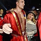 Hayden Panettiere With Wladimir Klitschko After Treatment