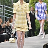Priyanka's Yellow Suit and PVC Boots on the Spring 2018 Chanel Runway