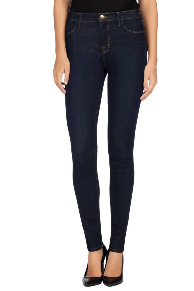 J Brand Maria High-Rise Super Skinny in After Dark ($188)