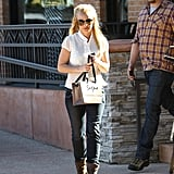 Britney Spears is Tanned and Ready for Retail Therapy