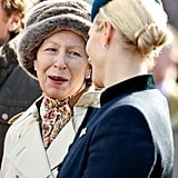 Princess Anne and Zara Tindall