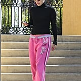 Jennifer Lopez Steps Out in Pink While Her Love? Album Leaks