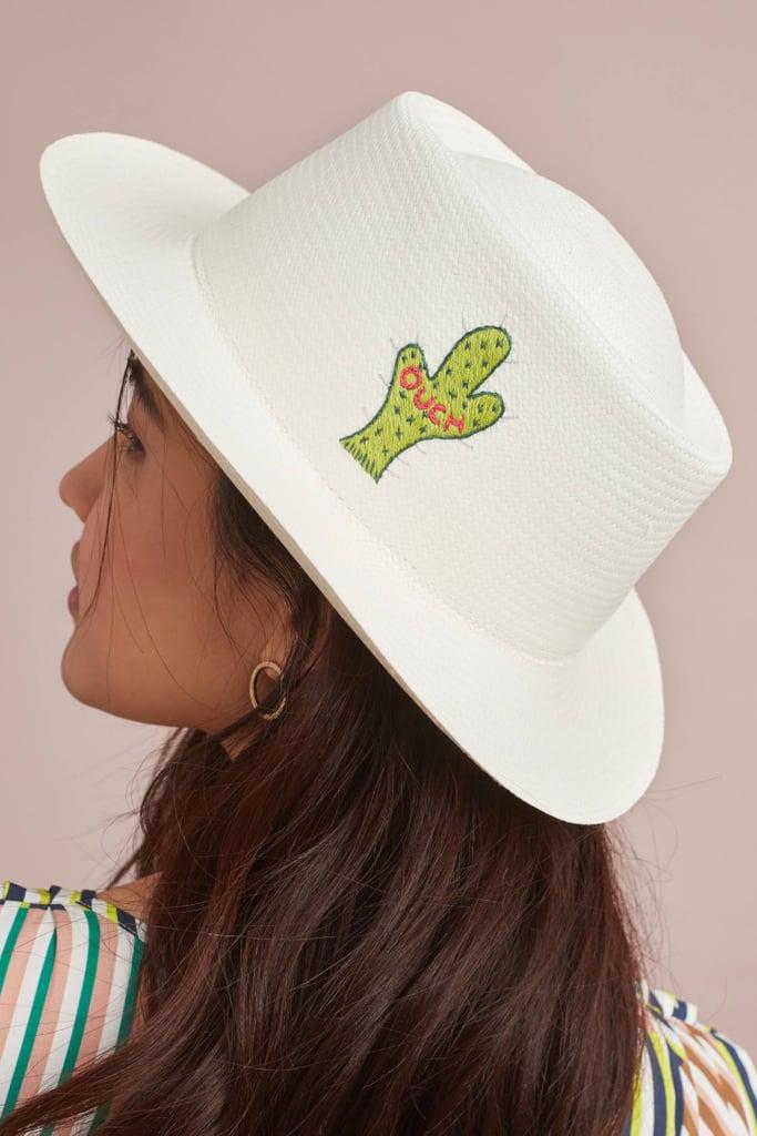 G. Viteri Cactus Boater Hat