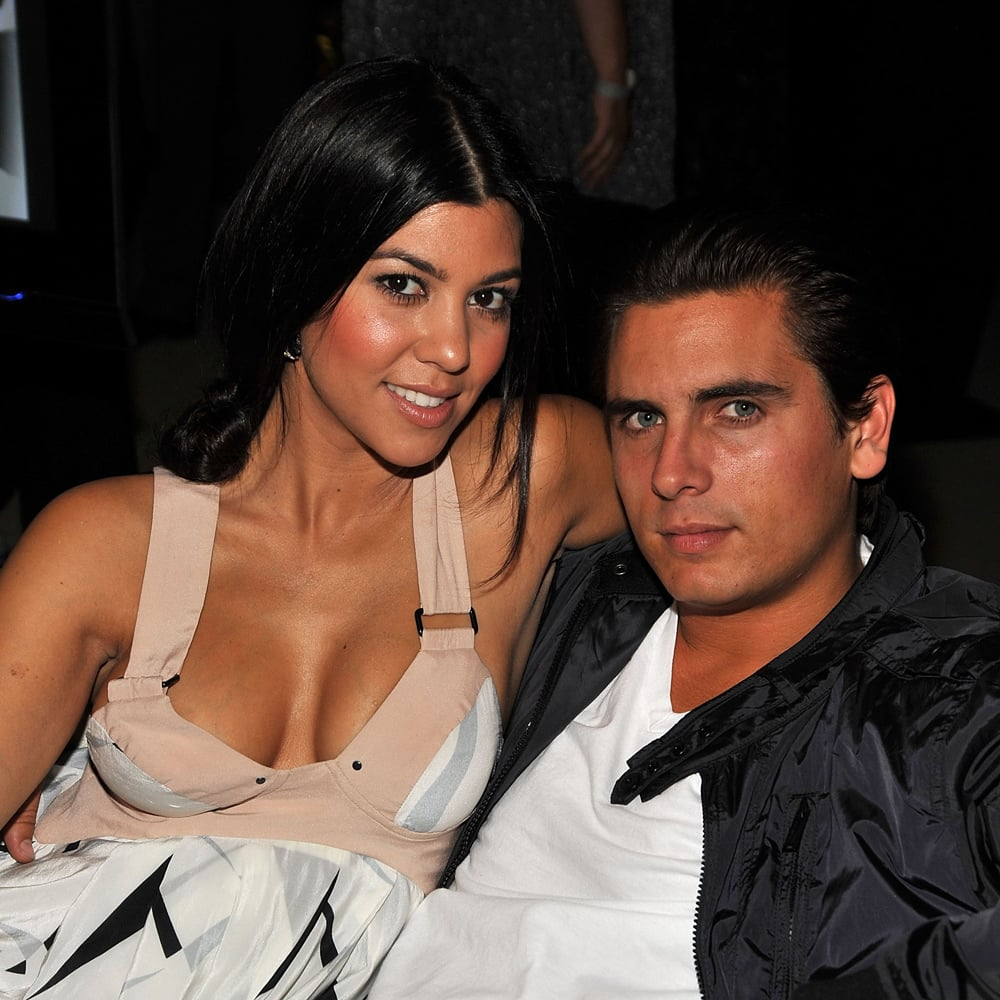 Kourtney and scott first started dating