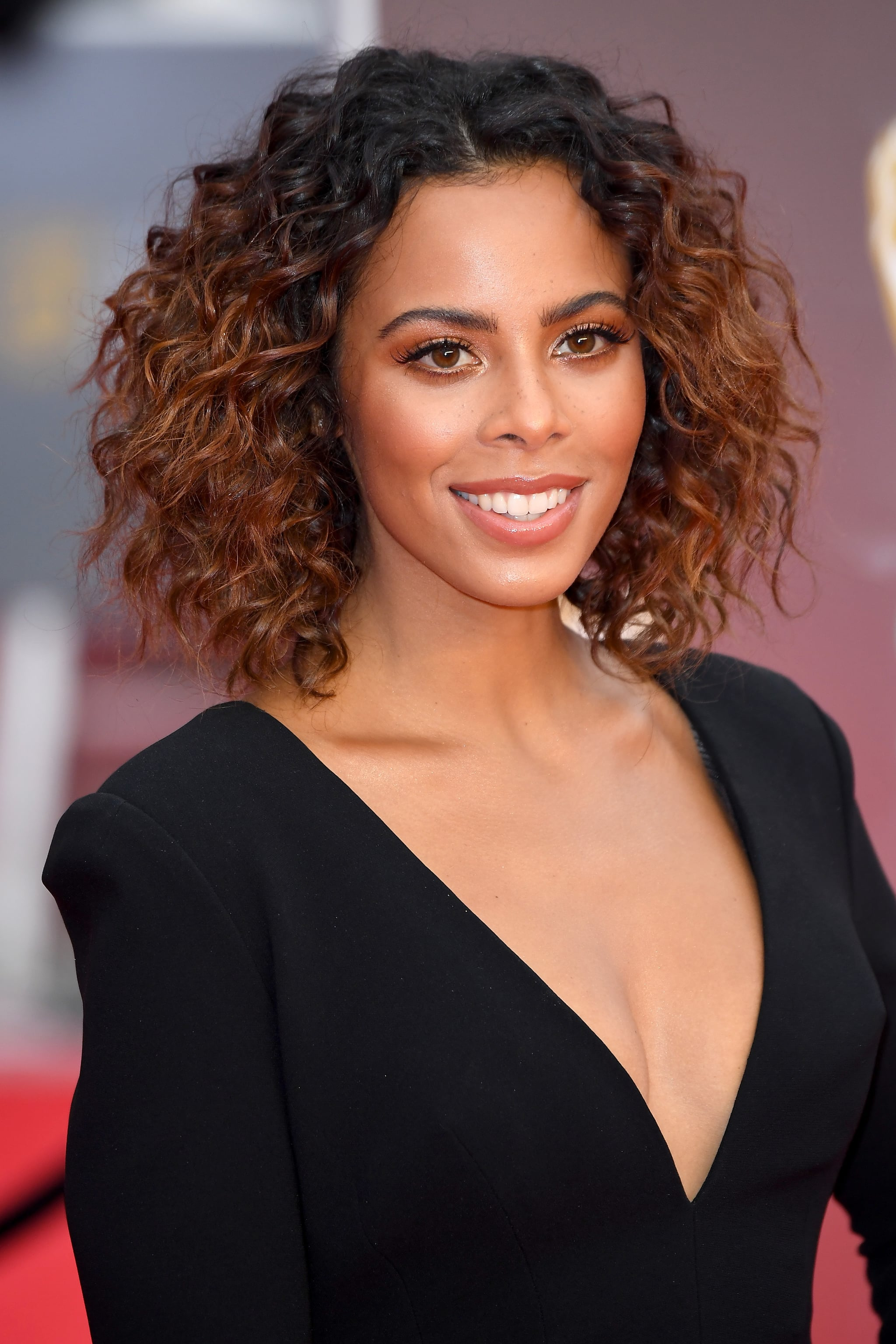 Rochelle Humes The Beauty Looks At The Bafta Awards Will Inspire Your Next Night Out Popsugar Beauty Photo 23