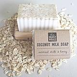Oatmeal Milk and Honey Coconut Milk Soap Bar ($6)
